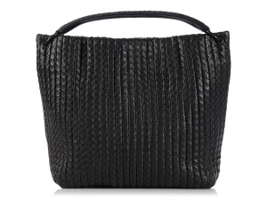 Bottega Veneta Bv.k1208.08 Large Anthracite Intrecciato Tote in Black