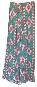 Peach Love California Wide Leg Pants multi color