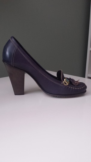 Goffredo Fantini navy blue Pumps