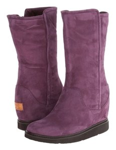 UGG Boots Collection Australia Gisella Aubergine Purple Aubergine Boots