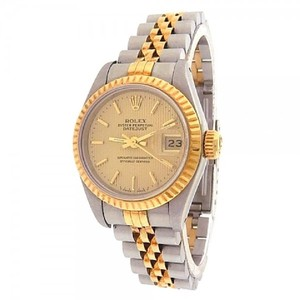 Rolex Datejust 69173 Stainless Steel 18k Yellow Gold Jubilee Automatic