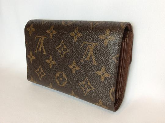 Louis Vuitton Classic Monogram Canvas Alexandra Wallet with Coin Pocket