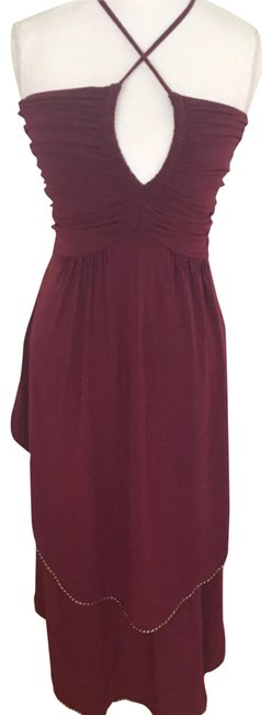 Preload https://img-static.tradesy.com/item/2200765/marc-by-marc-jacobs-burgundy-party-formal-dress-size-0-xs-0-3-650-650.jpg