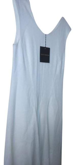 Item - Off White Made In Italy Flared Mid-length Night Out Dress Size 10 (M)