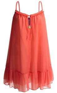 Betsey Johnson short dress mango smoothie Betsy Slip Nightie on Tradesy