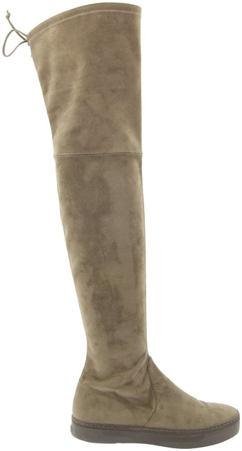 Item - Brown Playtime Suede Over-the-knee Boots/Booties Size US 6.5 Regular (M, B)