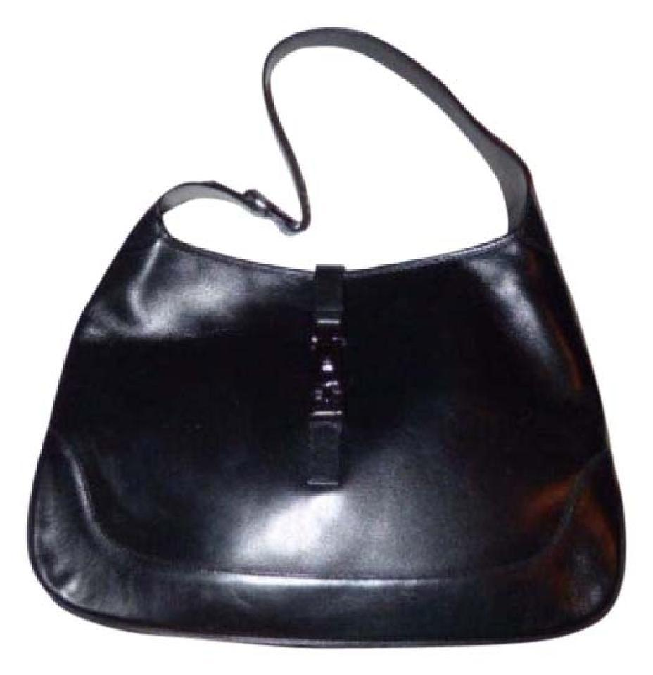 bfd96fb28b8e Gucci Jackie O Chrome Hardware Push Lock Closure Must Have Style Extra  Large Size Hobo Bag