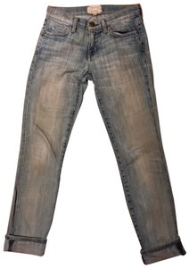 Current/Elliott Relaxed Fit Jeans-Distressed