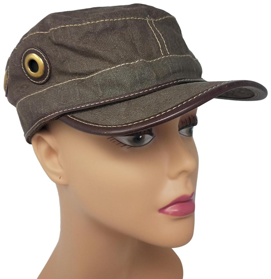 0dd9078e3613c Gucci Brown GG web print canvas Gucci baseball cap M sz Image 0 ...