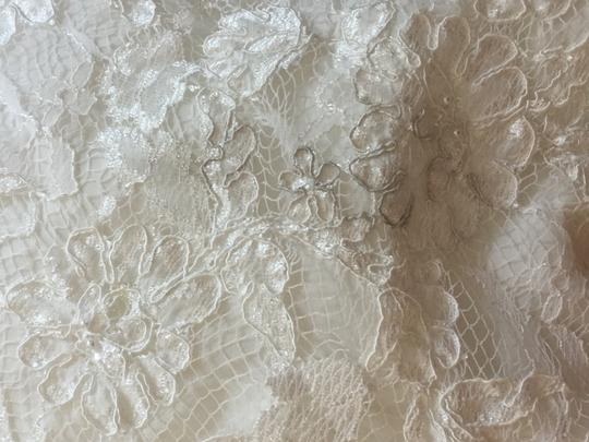 Monique Luo Ivory Lace and Crl5378 Sexy Wedding Dress Size 12 (L)