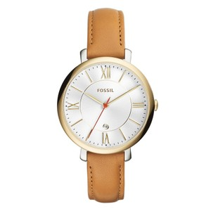 Fossil Fossil Original ES3737 Women's Tan Leather Watch 36mm Automatic