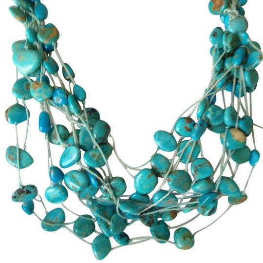 Preload https://item3.tradesy.com/images/fortunoff-fine-jewelry-blue-turquoise-necklace-2201087-0-0.jpg?width=440&height=440