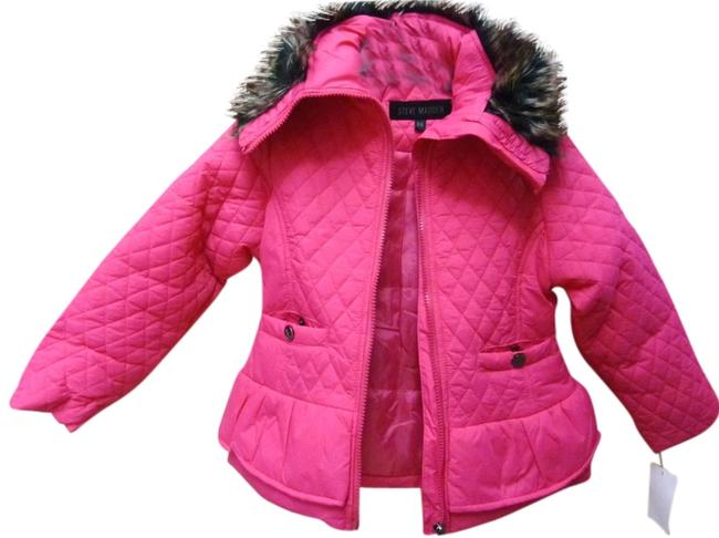 Preload https://img-static.tradesy.com/item/2201095/steve-madden-pink-little-girls-quilted-faux-fur-trim-jacket-56-t-coat-size-petite-6-s-0-0-650-650.jpg