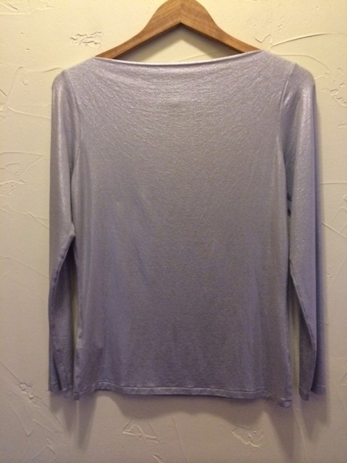 Other Gray Shimmery T Shirt silver