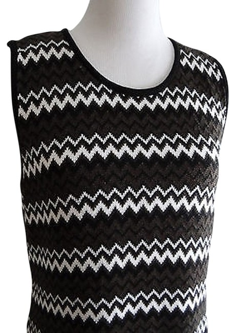 Preload https://item4.tradesy.com/images/calvin-klein-black-brown-white-knee-length-workoffice-dress-size-8-m-2201183-0-0.jpg?width=400&height=650