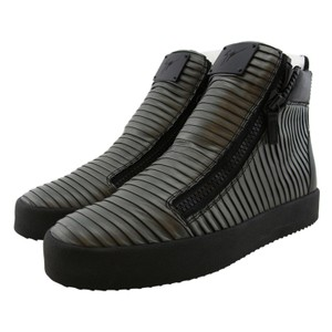 Giuseppe Zanotti Zanotti Men Zanotti Boots Zanotti Sneakers High-top Sneaker Made In Italy Anthracite Athletic