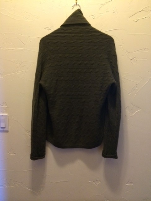 Ralph Lauren Black Label Dry Clean Cable Knit Soft Luxurious Classic Sweater