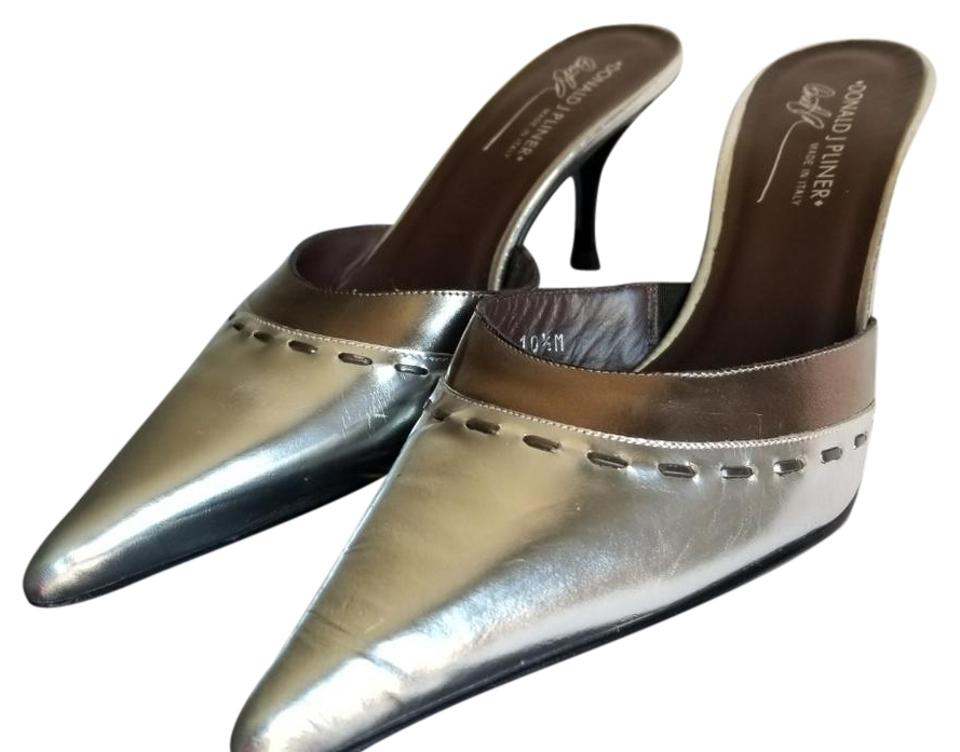 f994f1782a4 Donald J. Pliner Silver Rona Formal Shoes Size US 10.5 Regular (M