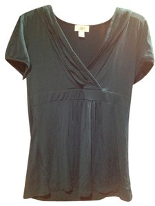 Ann Taylor LOFT Top Dark Green