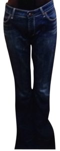 Rich & Skinny Trouser/Wide Leg Jeans-Medium Wash