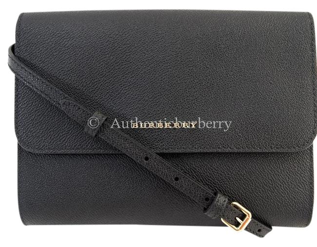 Item - Soft Grain Small Loxley Black Leather Cross Body Bag