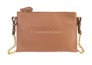 Burberry London Chestnut Brown Clutch