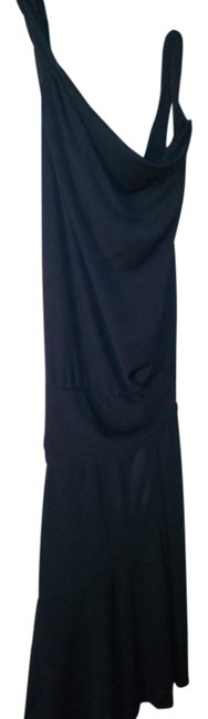 Item - Black Made In Italy Mid-length Night Out Dress Size 6 (S)