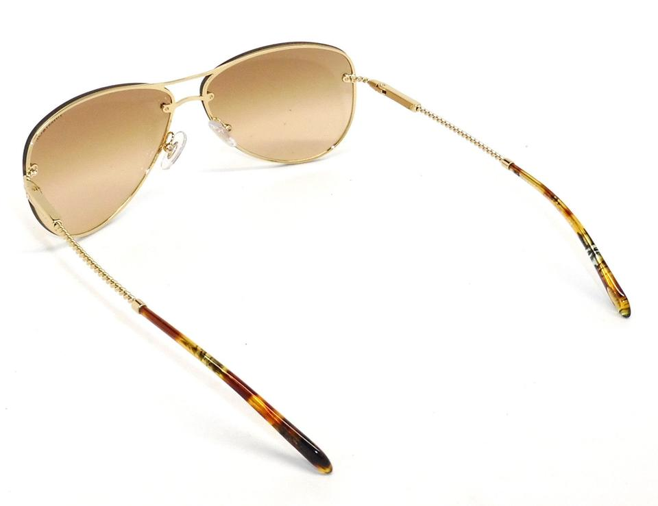ef8841c071 Tiffany   Co. Gold 3039-b Gold Brown Lightly Mirrored Aviator ...