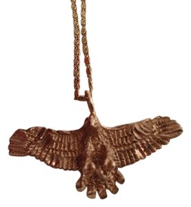 Other 14k Eagle Pendant Necklace.