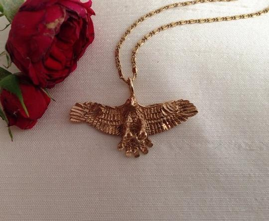 Other 14k Eagle Pendant Necklace. Image 2