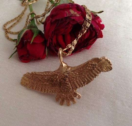 Other 14k Eagle Pendant Necklace. Image 4
