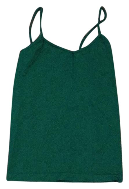 Blu Chic Summer Camisole Blouse Comfortable Top Green Image 0
