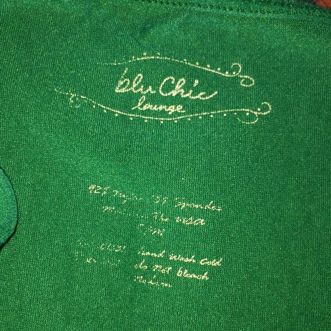 Blu Chic Summer Camisole Blouse Comfortable Top Green Image 1
