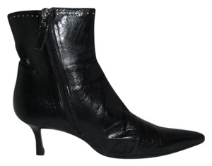 Lambertson Truex Leather Ankle Black Boots