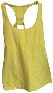 Moda International Moda International Yellow Racerback Tank M