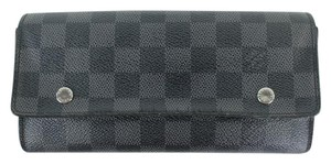 Louis Vuitton Damier Graphite Portefeuille Long Modulable Bifold 901LT16