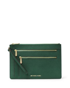 Michael Kors Wristlet in Green