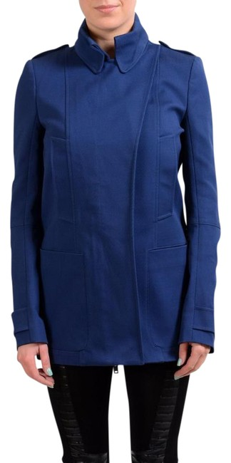 Item - Navy 1 Full Zip Women's Basic Jacket Size 4 (S)