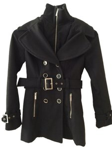 Guess Belted Pea Coat