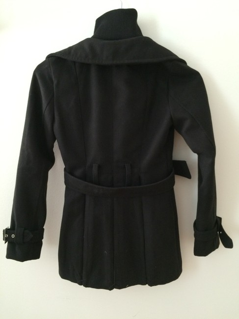 Guess Belted Pea Coat Image 2