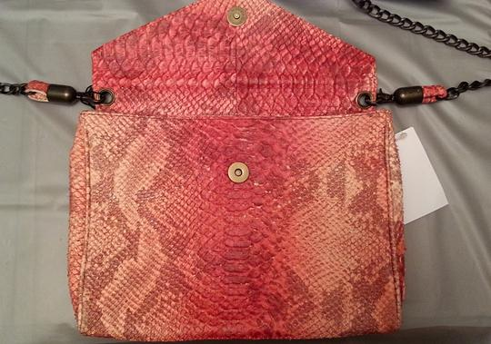 House of Harlow 1960 Leather Snakeskin Cross Body Bag