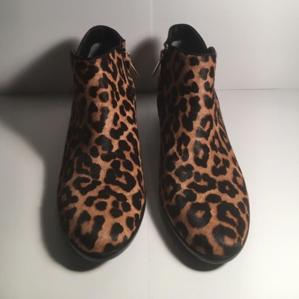 d3ba44e10163b Sam Edelman Leopard Petty Boots Booties Size US 7 Regular (M