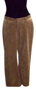 Coldwater Creek Corduroy Boot Cut Pants Brown