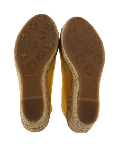 Tory Burch Yellow Wedges Image 10
