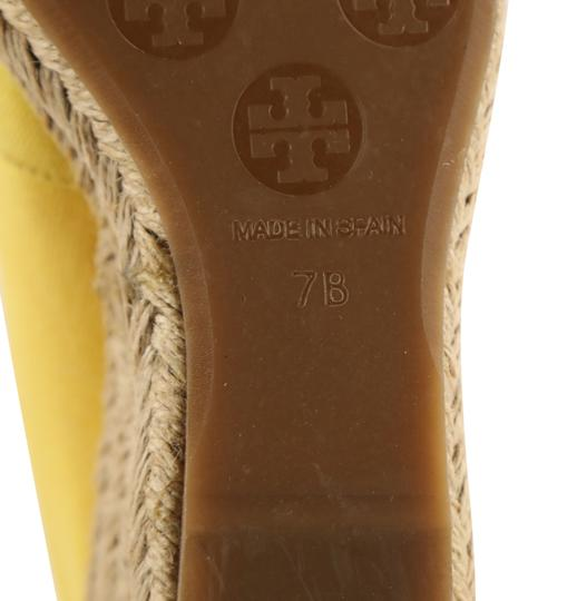 Tory Burch Yellow Wedges Image 11
