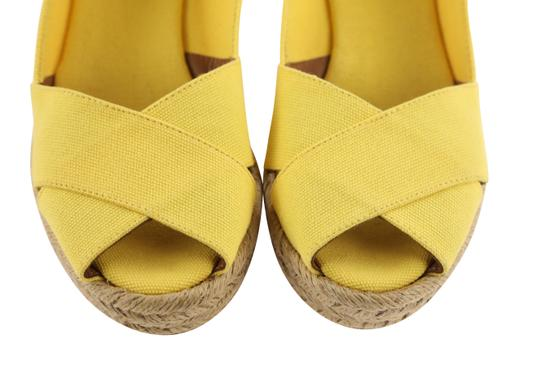 Tory Burch Yellow Wedges Image 6