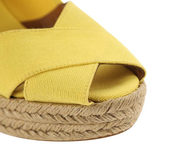 Tory Burch Yellow Wedges Image 7