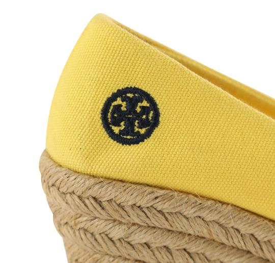 Tory Burch Yellow Wedges Image 8