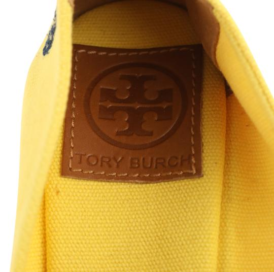 Tory Burch Yellow Wedges Image 9