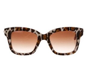 Stella McCartney STELLA MCCARTNEY LEOPARD PRINT TINTED SUNGLASSES